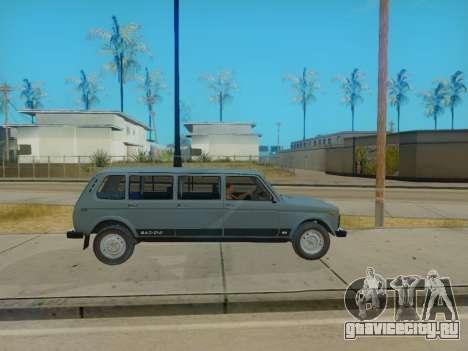 ВАЗ 2131 7-door [HQ Version] для GTA San Andreas вид справа