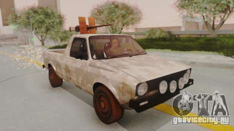 Volkswagen Caddy Military Vehicle для GTA San Andreas