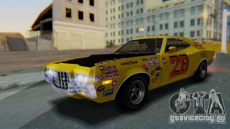 Ford Gran Torino Sport SportsRoof (63R) 1972 PJ2 для GTA San Andreas вид снизу