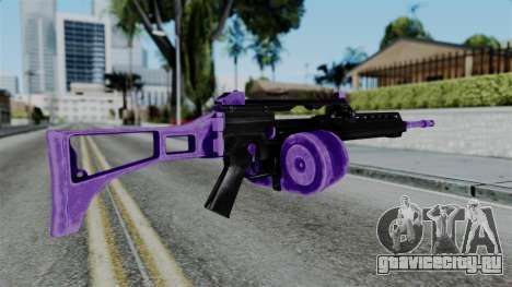 Purple M4 для GTA San Andreas второй скриншот