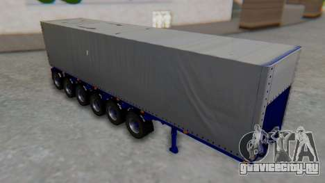 Trailer Colis Blue для GTA San Andreas