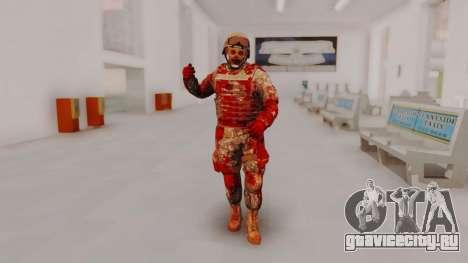 Zombie Military Skin для GTA San Andreas второй скриншот