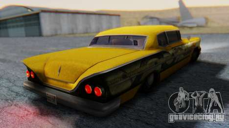 Tornado - Dragon Lore Paintjob для GTA San Andreas вид слева