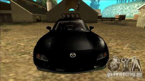 Mazda RX-7 Rusty Rebel для GTA San Andreas вид сверху