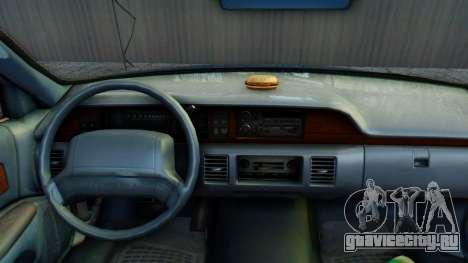 Chevrolet Caprice 1993 для GTA San Andreas вид сзади