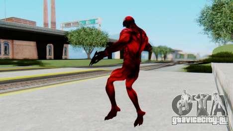 The Amazing Spider-Man 2 Game - Carnage для GTA San Andreas третий скриншот