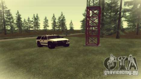 Chevrolet Suburban Offroad Final Version для GTA San Andreas вид слева