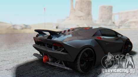 Lamborghini Sesto Elemento 2010 для GTA San Andreas вид слева