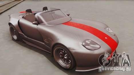 GTA 5 Bravado Banshee 900R Carbon IVF для GTA San Andreas вид справа