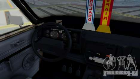 Peykan 80 Spyder для GTA San Andreas вид изнутри