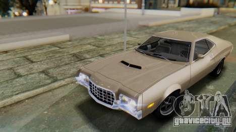 Ford Gran Torino Sport SportsRoof (63R) 1972 PJ2 для GTA San Andreas