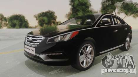 Hyundai Sonata Turbo 2.0 2015 V1.0 Final для GTA San Andreas