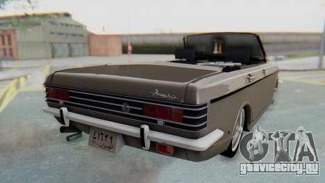 Peykan 80 Spyder для GTA San Andreas вид слева
