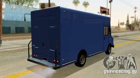 Boxville from GTA 5 для GTA San Andreas вид слева