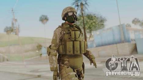 US Army Urban Soldier Gas Mask from Alpha Protoc для GTA San Andreas