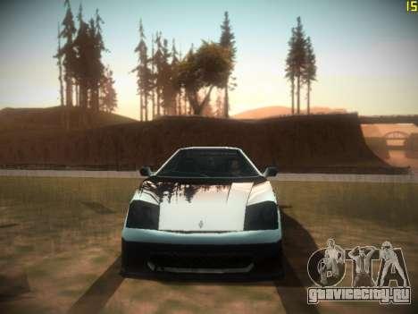 ENB Following V1.0 для средних ПК для GTA San Andreas пятый скриншот