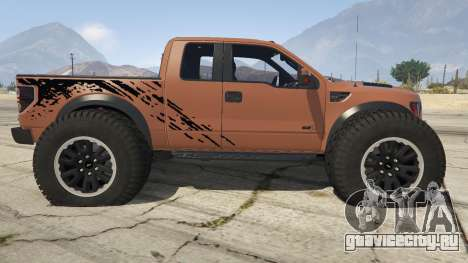 Ford Velociraptor 1500 hp для GTA 5 вид слева
