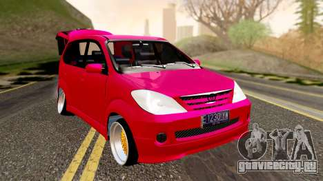Toyota Avanza Best Modification для GTA San Andreas