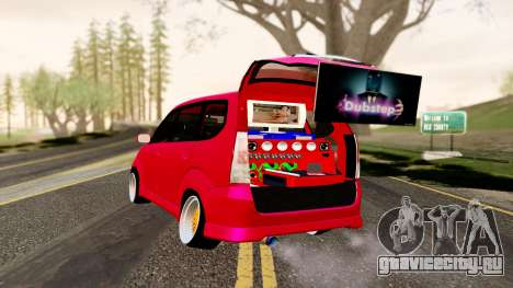 Toyota Avanza Best Modification для GTA San Andreas вид слева