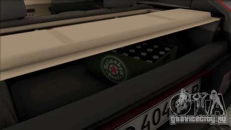 ВАЗ 2108 DropMode для GTA San Andreas вид сверху