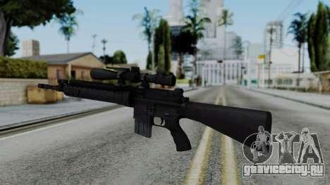 Arma AA MK12 SPR для GTA San Andreas второй скриншот