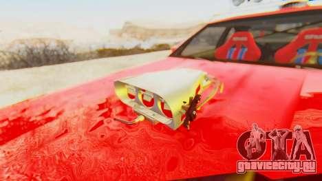 Virgo v2.0 для GTA San Andreas вид сзади