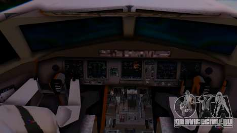 Boeing 777-9x British Airways для GTA San Andreas вид сзади слева