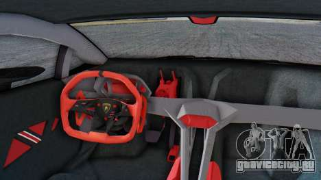 Lamborghini Sesto Elemento 2010 для GTA San Andreas вид сзади