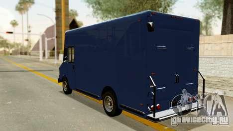 Boxville from GTA 5 для GTA San Andreas вид сзади слева