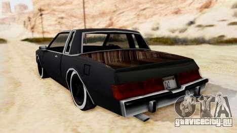 MajesticX для GTA San Andreas вид слева