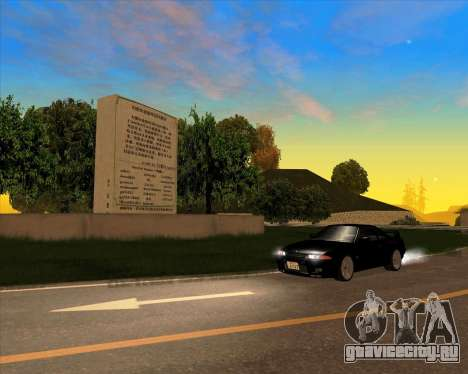 Nissan Skyline GT-R BNR32 Initial D Legend 2 N.K для GTA San Andreas вид сзади
