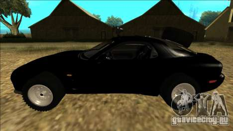 Mazda RX-7 Rusty Rebel для GTA San Andreas вид слева