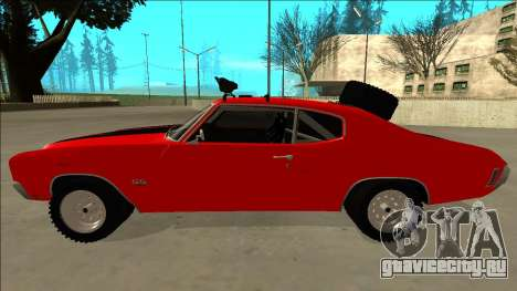 Chevrolet Chevelle Rusty Rebel для GTA San Andreas