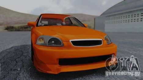 Honda Civic EG Ferio для GTA San Andreas вид справа
