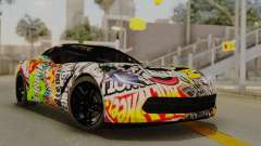 Chevrolet Corvette Stingray C7 2014 Sticker Bomb