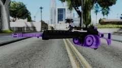 Purple M4 для GTA San Andreas