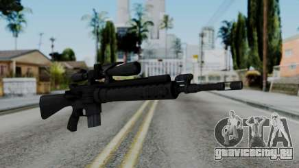 Arma AA MK12 SPR для GTA San Andreas