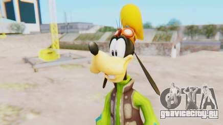 Kingdom Hearts 2 Goofy Default для GTA San Andreas