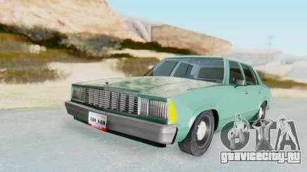 Chevrolet Malibu 1981 Twin Turbo для GTA San Andreas
