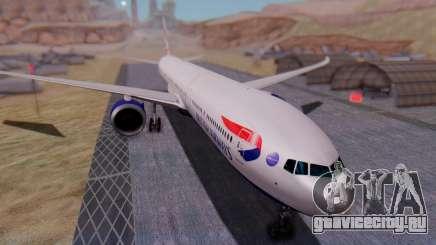 Boeing 777-9x British Airways для GTA San Andreas