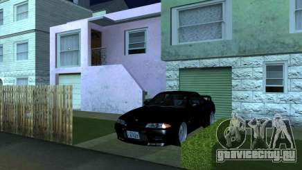 Nissan Skyline GT-R BNR32 Initial D Legend 2 N.K для GTA San Andreas