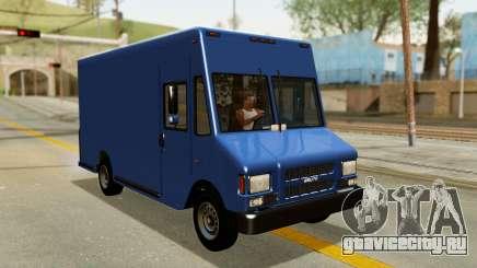 Boxville from GTA 5 для GTA San Andreas