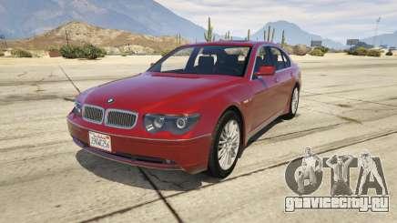 BMW 760i E65 для GTA 5