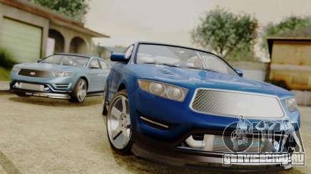 GTA 5 Vapid Greenwood для GTA San Andreas