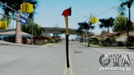 No More Room in Hell - Fire Axe для GTA San Andreas второй скриншот