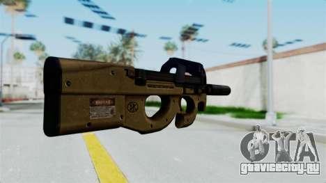 P90 Sand Frame для GTA San Andreas второй скриншот