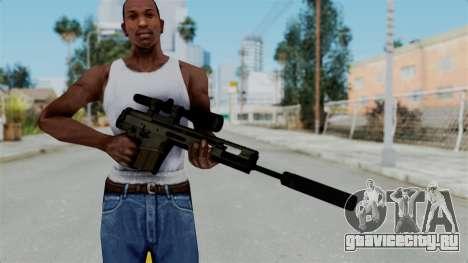 SCAR-20 v2 Folded для GTA San Andreas третий скриншот