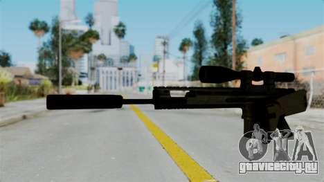 SCAR-20 v1 Folded для GTA San Andreas