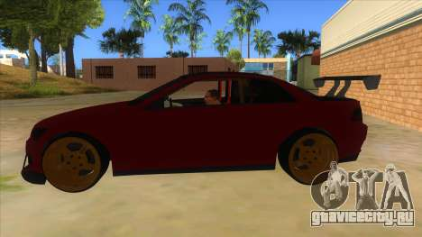 GTA V Sentinel RS MKII для GTA San Andreas вид слева