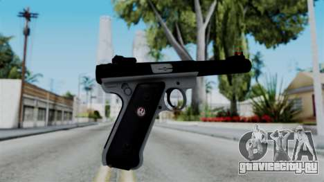 No More Room in Hell - Ruger Mark III для GTA San Andreas второй скриншот